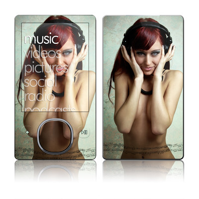 Zune 80/120GB Skin - Headphones