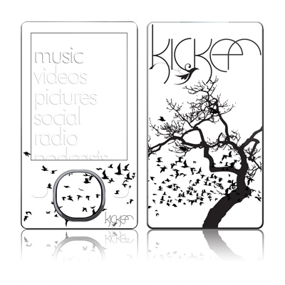 Zune 80/120GB Skin - KICKER Birds