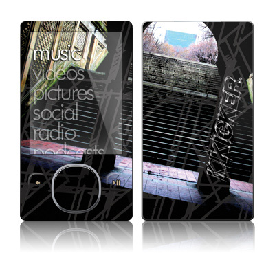 Zune 80/120GB Skin - Kicker NYC