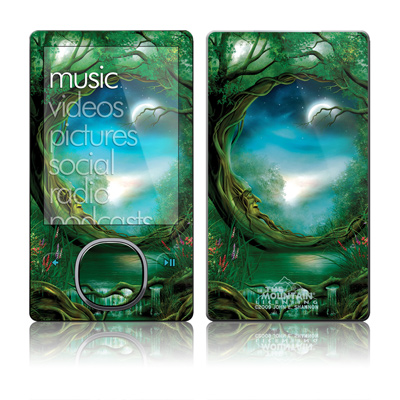 Zune 80/120GB Skin - Moon Tree