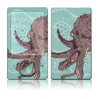 Zune 80/120GB Skin - Octopus Bloom