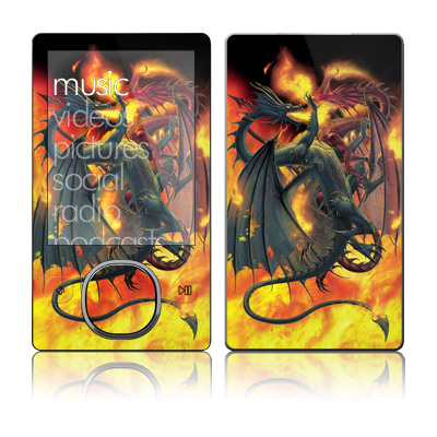 Zune 80/120GB Skin - Dragon Wars