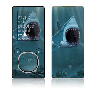 Zune 4GB/8GB Skin - Great White