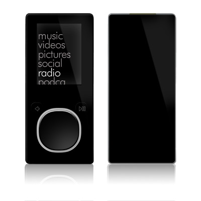 Zune 4GB/8GB Skin - Solid State Black