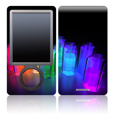 Zune 30GB Skin - Dispersion