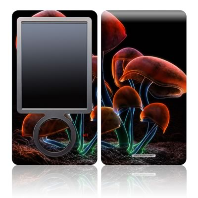Zune 30GB Skin - Fluorescence Rainbow