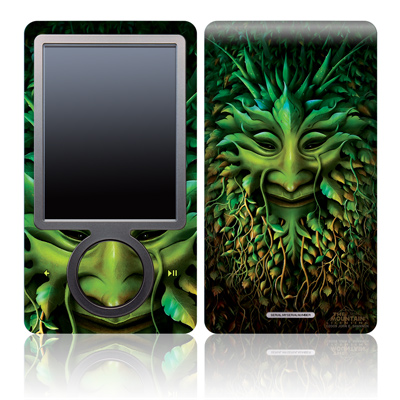 Zune 30GB Skin - Greenman