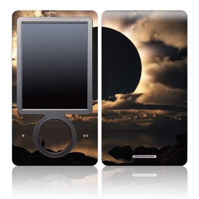 Zune 30GB Skin - Moon Shadow