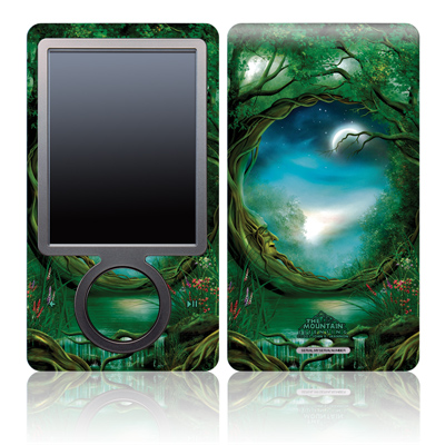Zune 30GB Skin - Moon Tree