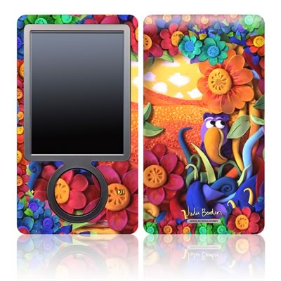 Zune 30GB Skin - Summerbird