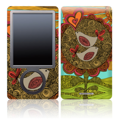 Zune 30GB Skin - Sunshine