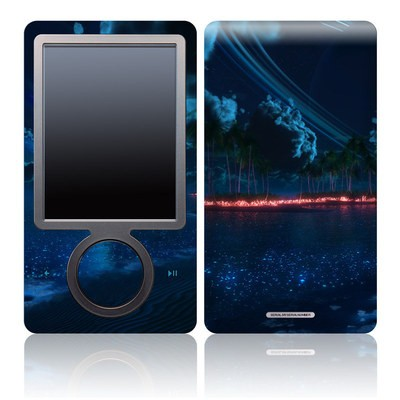 Zune 30GB Skin - Thetis Nightfall