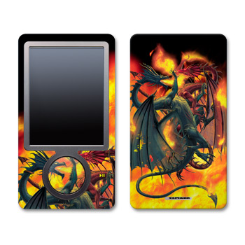 Zune Skin - Dragon Wars