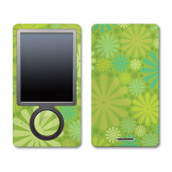 Zune Skin - Lime Punch