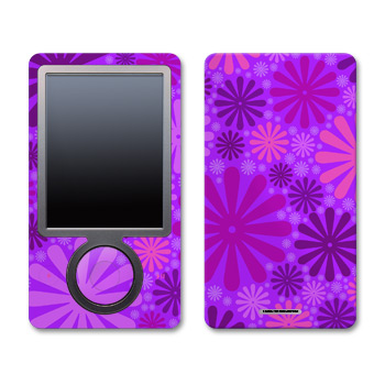 Zune Skin - Purple Punch