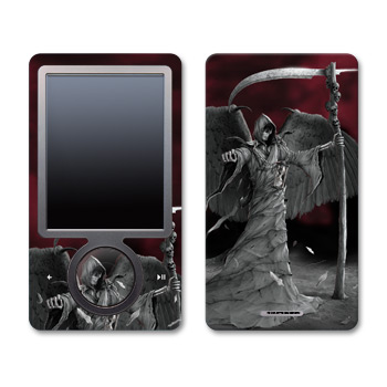 Zune Skin - Time is Up